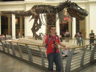 Con Sue, el mayor y más completo T-Rex de este mundo.