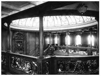 1st Class Forward Upper Grand Staircase