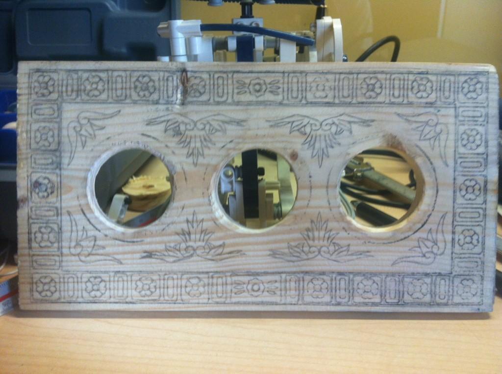 Caja con combinación. ¡El diseño es mío!